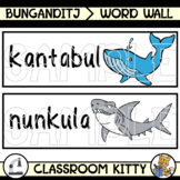 Ocean Animals in Boandik Word Wall : Bunganditj