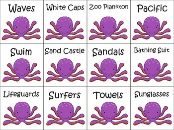 Ocean Articulation! Cards and Board Game for Later Developing Sounds