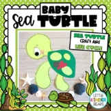 Baby Sea Turtle Life Cycle Craft for Summer and Ocean Theme