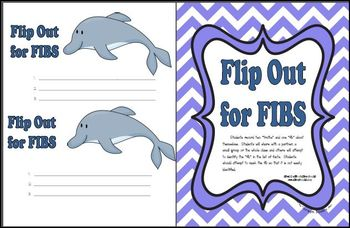 Ocean Back to School:  Flip for Fibs