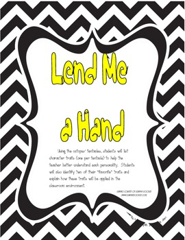 Ocean Back to School:  Lend Me a Hand