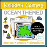 Ocean Themed Barrier Games Speech Therapy