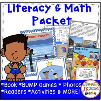 Ocean Beach Literacy & Math Packet