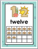 Ocean Theme Classroom Decor Ten Frame Number Posters 11-20