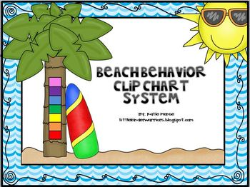 Ocean, Beach, Under the Sea Theme Complete Clip Chart System