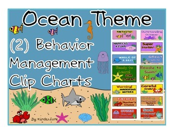 Ocean Behavior Clip Chart (Choice of Two)