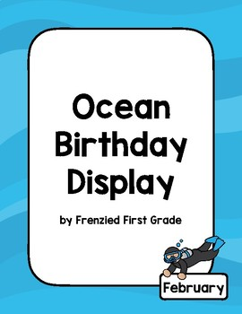 Ocean Birthday Display