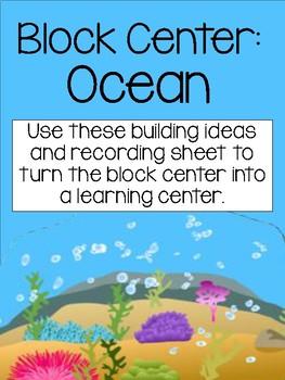 Ocean Block Center- Preschool Learning Centers