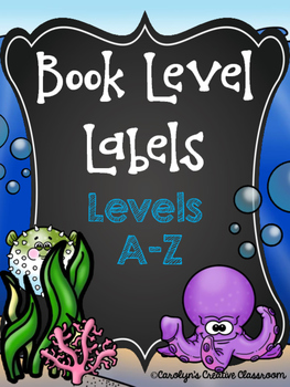 Ocean Book Level Labels