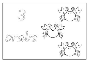 Ocean Booklet Numbers 1 - 10