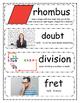 Ocean Books Vocabulary Cards BUNDLE PACK