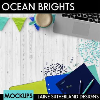 Ocean Brights Styled Mockups
