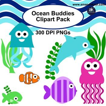 Ocean Buddies Clipart