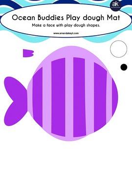 Ocean Buddies Math and Crafts Printable Pack