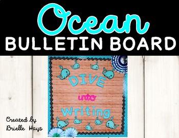 Ocean Bulletin Board Template