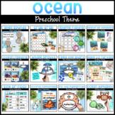 Ocean Preschool Activities   Math & Literacy Activities