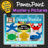 Ocean Bundle Watch, Think, Color Games - EXPANDING BUNDLE