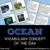 Ocean Vocabulary Concept of the Day