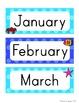 Ocean Calendar Set - Polka Dot