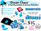 Ocean Chase:  Question & Answer Card Game, Reusable for AL