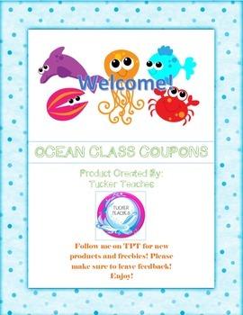 Ocean Class Coupons Bonus