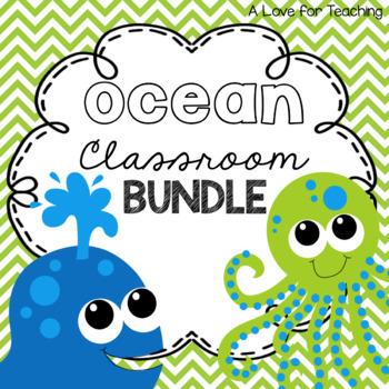 Ocean Classroom BUNDLE