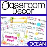 Ocean Classroom Decor