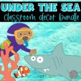 Ocean Classroom Decor Bundle EDITABLE