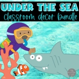 Ocean Classroom Decor Bundle EDITABLE