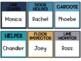 Ocean Classroom Job Labels