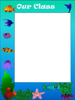 Ocean Classroom Management Posters