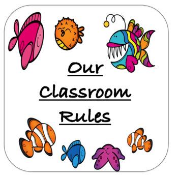 Ocean Classroom Rules