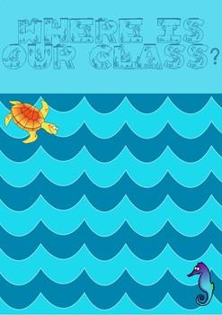 Ocean Classroom Setup Products