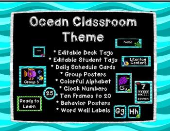 Ocean Classroom Theme