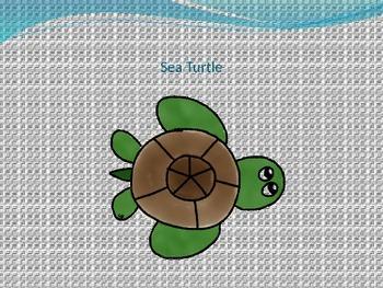 Ocean Clipart (kid drawn)