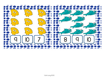 Ocean Clothespin Counting