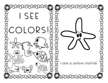 Ocean Color Easy Reader