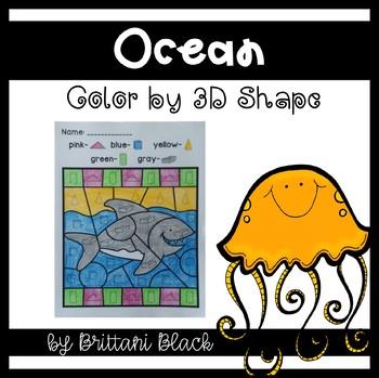 Ocean~ Color by Code
