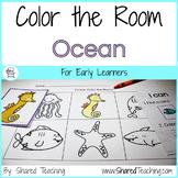 Ocean Color the Room