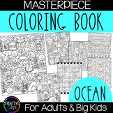 Ocean Coloring Pages: Masterpieces {Made by Creative Clips}