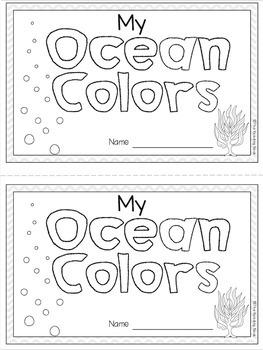 Ocean Colors Book
