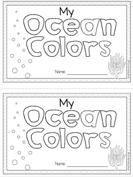 Ocean Colors Book