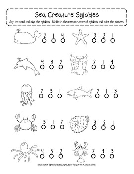 Ocean Commotion Activity Pack