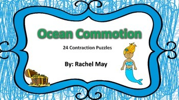 Ocean Commotion Contraction Puzzles