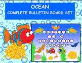 Ocean Complete Bulletin Board Set