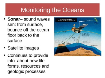 Ocean Composition and Ecosystems Notes