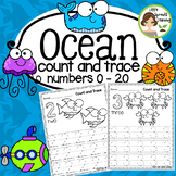 Ocean Count and Trace (Numbers 0 - 20)