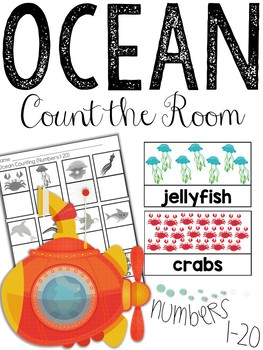 Ocean Count the Room (Numbers 1-20)