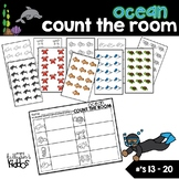 Ocean Count the Room for Numbers 13-20
