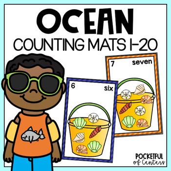 Ocean Counting Mats 0-20